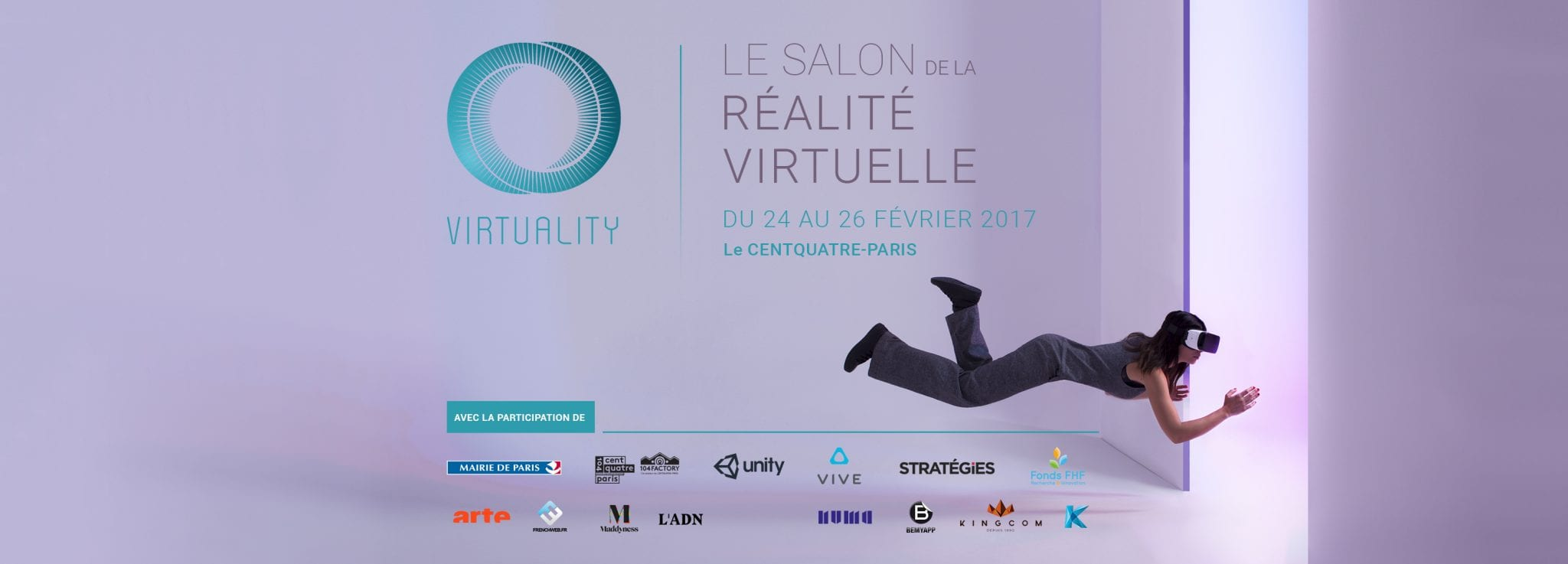 Cinestic accompagne ses adh rents au salon virtuality for Salon a paris ce weekend